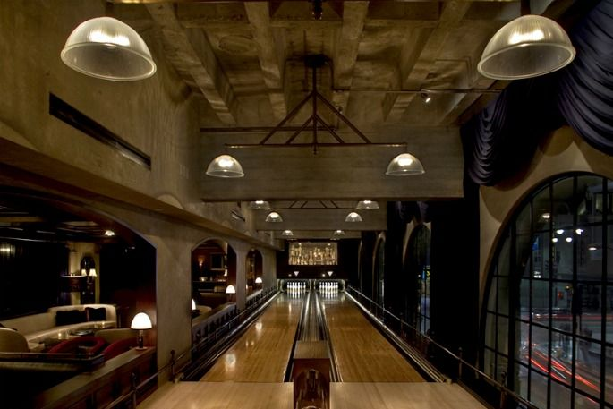 Bowling alley in da house these are a few of my favorite for Extra room in house