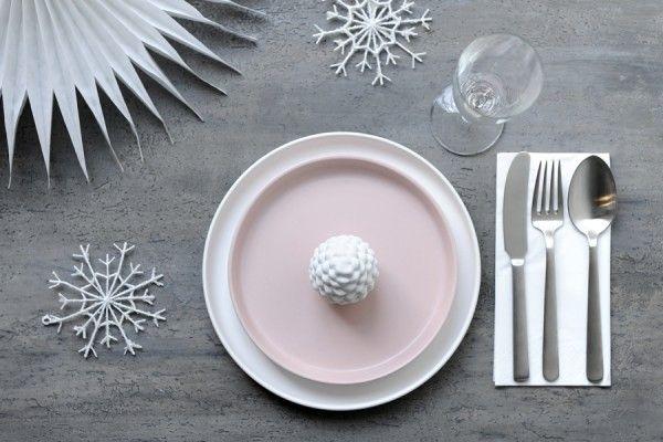 Christmas setting with Kay Bojesen's Grand Prix cutlery / flatware. Danish Design.