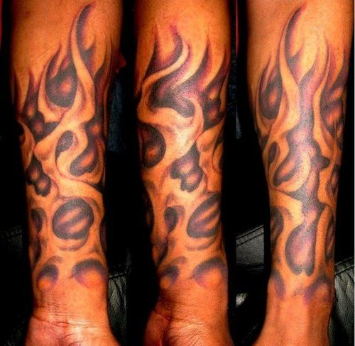 28 best Flame Sleeve Tattoos For Men images on Pinterest ...
