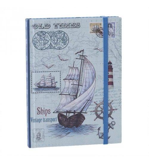 PAPER NOTEBOOK  W_SHIP 11X1_5X15