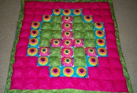 Cool Puff Quilt