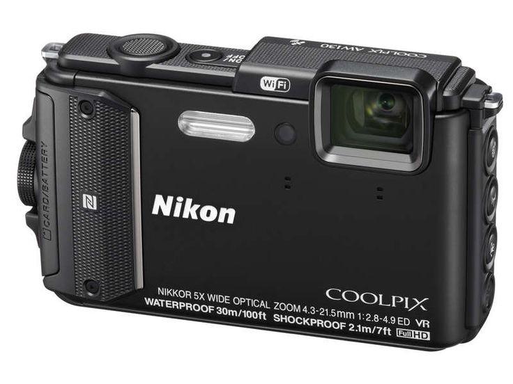 Appareil photo numérique compact NIKON AW130 NOIR prix promo Appareil photo numérique Conforama 309.00 €