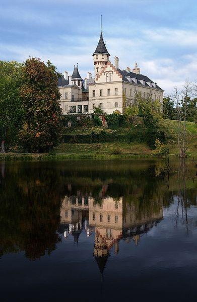 Castle Raduň near Opava, Czech Republic