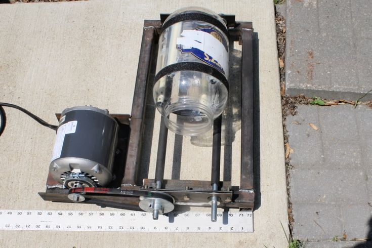 How i built my own rotary tumbler - Page 1 - AR15.COM