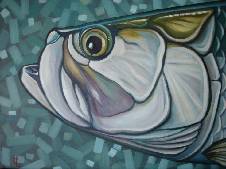 Tarpon My Etsy Paintings Pinterest Shops Art And