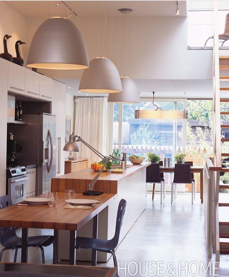 moderne wohnzimmer mit offener kuche. attraktive indirekte ... - Moderne Wohnzimmer Mit Offener Kuche