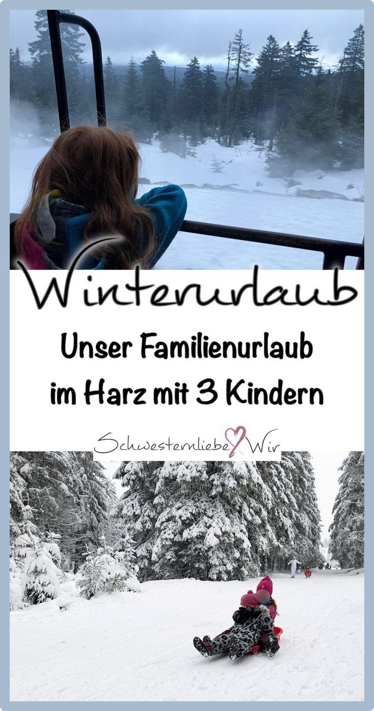 Unseren Winterurlaub haben wir mit unseren drei Mädels im Harz verbracht. Wir wollten dieses Jahr nämlich gerne mal ein wenig in den Schnee, der Zuhause leider nicht so oft da ist. Wie es dort so war und was wir so erlebt haben könnt ihr heute auf dem Blog lesen:  https://schwesternliebeundwir.de/familie-unser-winterurlaub-im-harz-mit-3-kindern/  #schnee #rodeln #harz #winterurlaub #urlaubmitkindern #familienurlaub