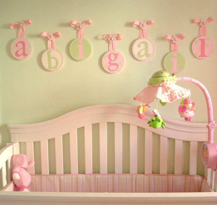28 best Nursery - Baby Name Letters images on Pinterest | Child room ...