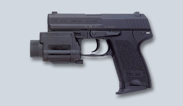 Heckler & Koch - USA    USP Compact available as 9 mm, .40 S&W, 45 ACP and special order .357SIG