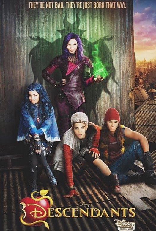 Disney Channel Descendants Movie... So yeh this happens Classic Disney channel watching