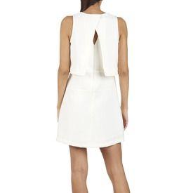 E-boutique Robe Combinée Blanc Suncoo femme | Place des Tendances