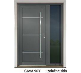 GAVA 903 Basaltgrau vstupné dvere