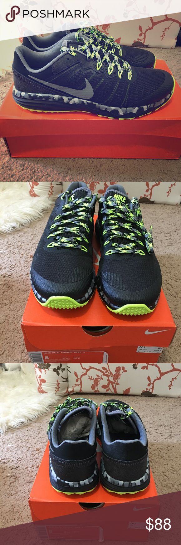 Brand New Nike Dual Fusion Trail 2 size 8 Brand New in the box 📦 Nike Dual Fusion Trail 2 men's size 8. Nike Shoes Sneakers