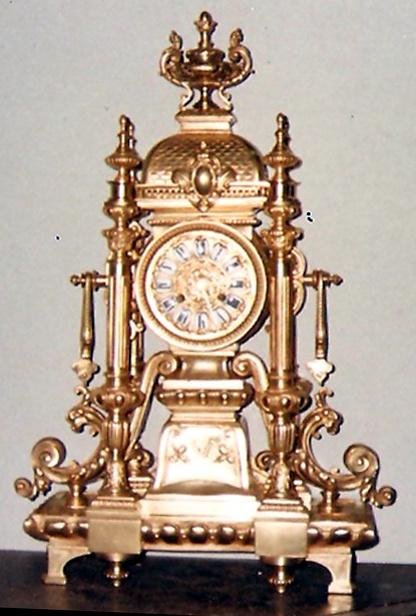 reloj antiguo(1890) restaurado por el orfebre Pallarols