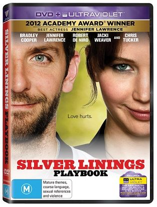 WIN! 5 Silver Linings Playbook DVDs. I'm drawing it on June 25!