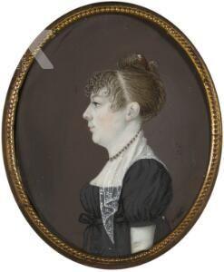Portret van Barbara Christina de Jonge (1789-1877)