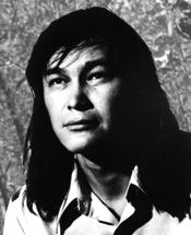 Benjamin Chee Chee, artist, of Ojibwa, descent, born Kenneth Thomas Benjamin at Temagami, Ontario 26.3. 1944; died in Ottawa 14.3. 1977 age 32.He moved to Montreal in 1965 where he developed his love of drawing, moving back to Ottawa in 1973. He gained fame as he developed his unique style of clear graceful lines with minimal colour of birds and animals.