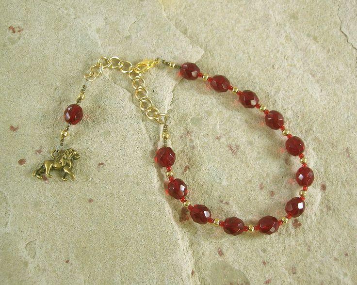 Sekhmet Prayer Bead Bracelet: Egyptian Goddess of Healing, War, Justice and Vengeance