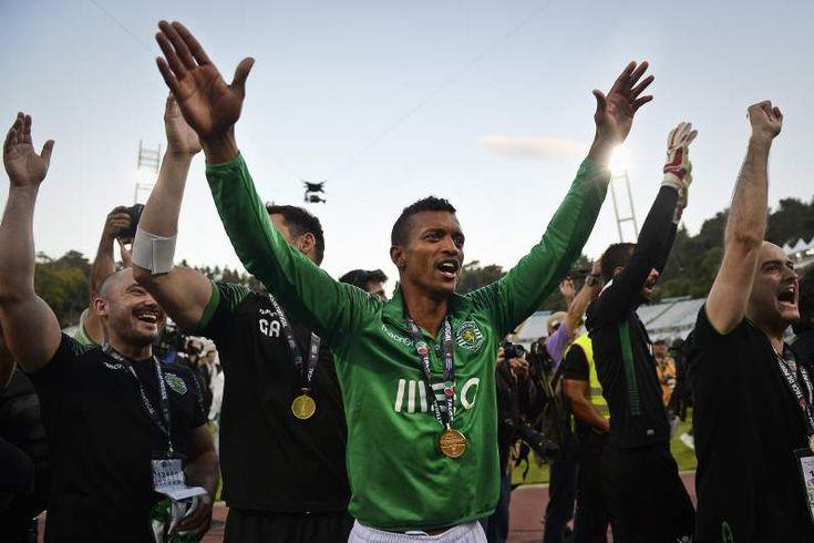 Nani, no seu último jogo, vence a Taça de Portugal, repetindo o mesmo feito de 2006/07..Boa sorte @luisnani !