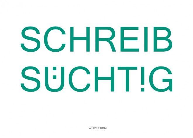 Wortform Motive bei EchtPost I Echte Postkarten online verschicken I www.echtpost.de