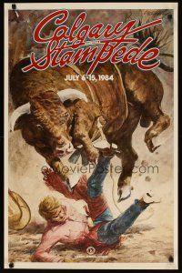 calgary stampede poster  1984