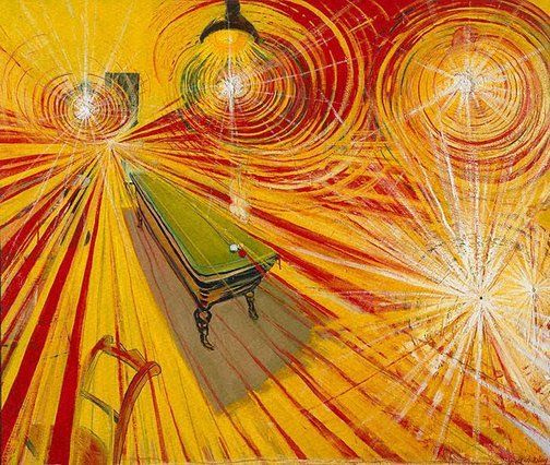 Brett Whiteley ~ The night café, 1971-72 (oil)