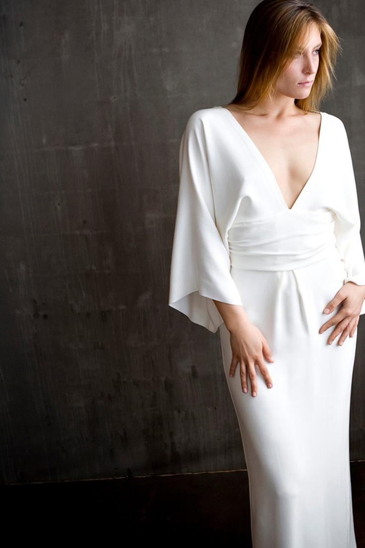 Kimono Sleeve Wedding Dress | Dress images