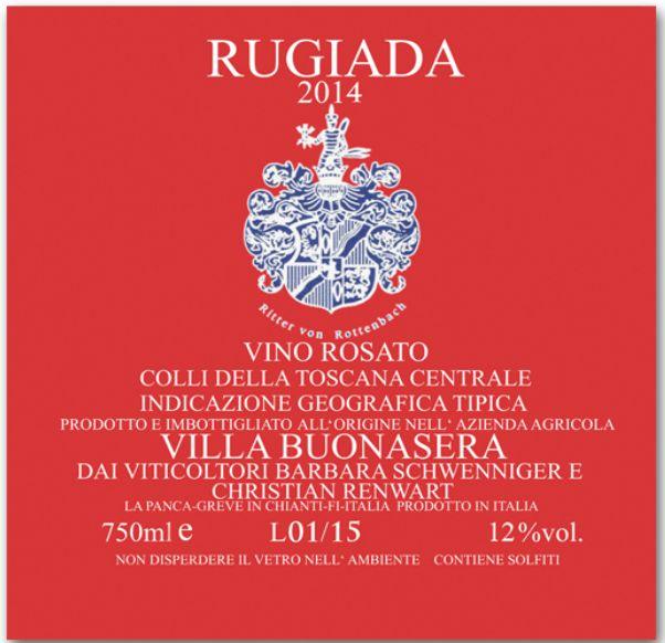 2014 Villa Buonasera Rugiada Rosé