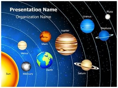 Astronomy Solar System Powerpoint Template is one of the ...