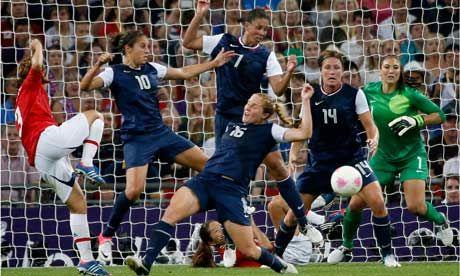 Olympic Women's Football Final: USA 2-1 Japan