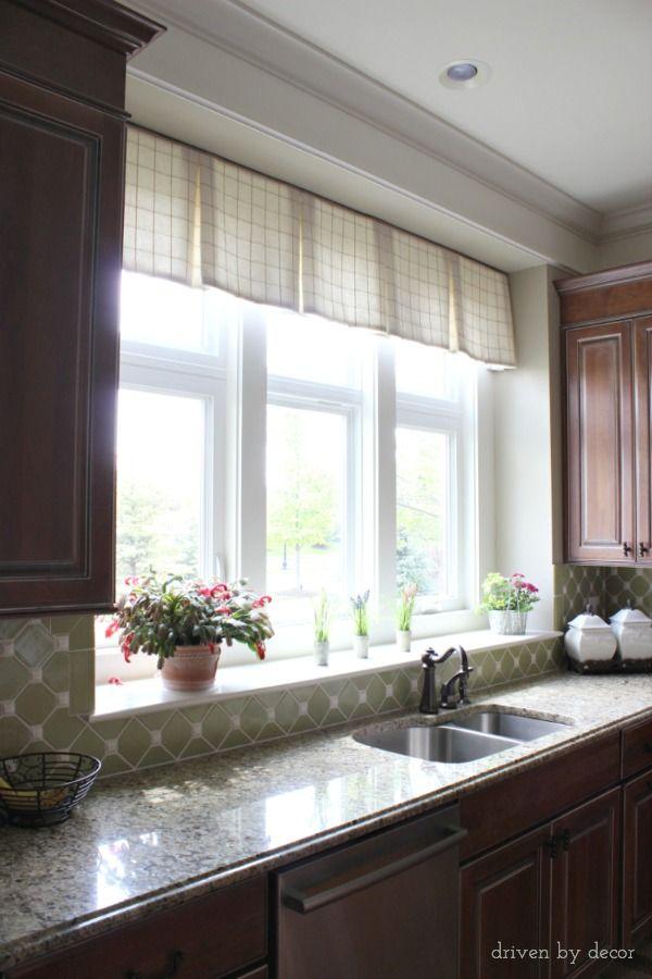 17 best ideas about transom window treatments on pinterest for Best kitchen window treatments