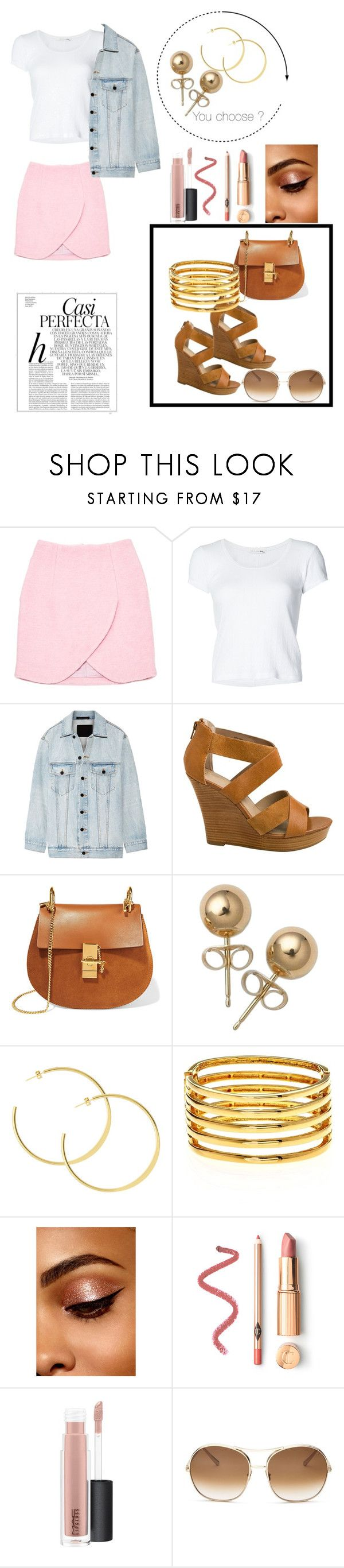 """Untitled #248"" by ilikepancakes248 ❤ liked on Polyvore featuring Carven, rag & bone, Alexander Wang, Seychelles, Chloé, Bling Jewelry, Kenneth Jay Lane, Whiteley and MAC Cosmetics"