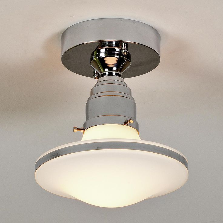 Retro Saucer Flushmount Ceiling Light
