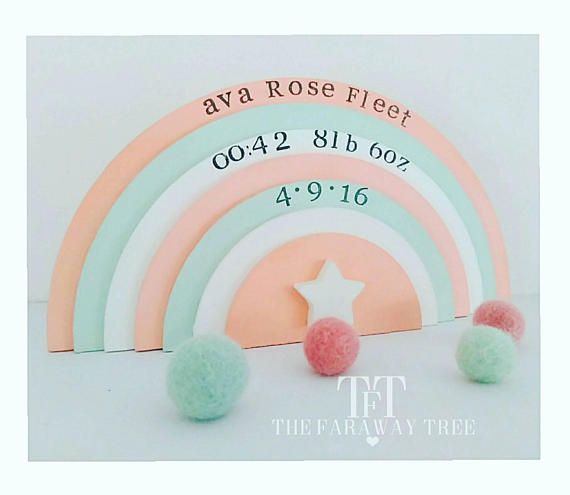 Best 25 birth weight ideas on pinterest baby footprint tattoo these keepsake rainbows make the perfect giftpersonalised with name date of birth weight and time perfect for a christening gift new baby gift and a negle Images