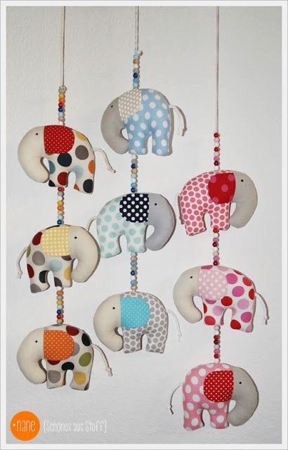 Nane schönes aus Stoff Ellifant nähen, kostenloses Schnittmuster, Elefant, Anleitung, diy, Anhänger Schnittmuster Elefant nähen Nane schönes aus Stoff