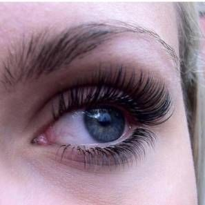 Eyelash extensions are applied with an adhesive that dries soft allowing lashes to stay flexible and natural looking. Contact Jaclyn Warren, Lash Specialist 480.246.2058 (Arizona) if your interested in lash extensions. Can't live without!
