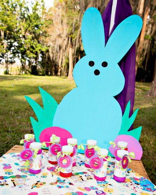 Bunnies, Eggs & Easter fun! Easter Party Ideas | Photo 1 of 20