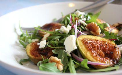 ricetta e ricette: Insalata di fichi e feta. figs and feta salad: I love!