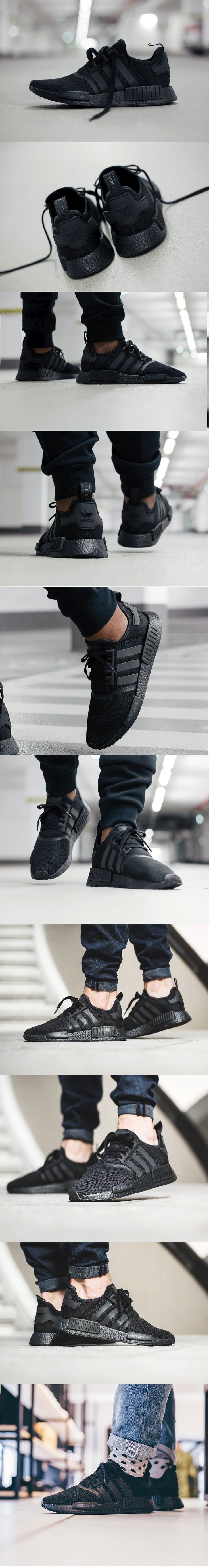 #Adidas #NMD_R1 '#Blackout'