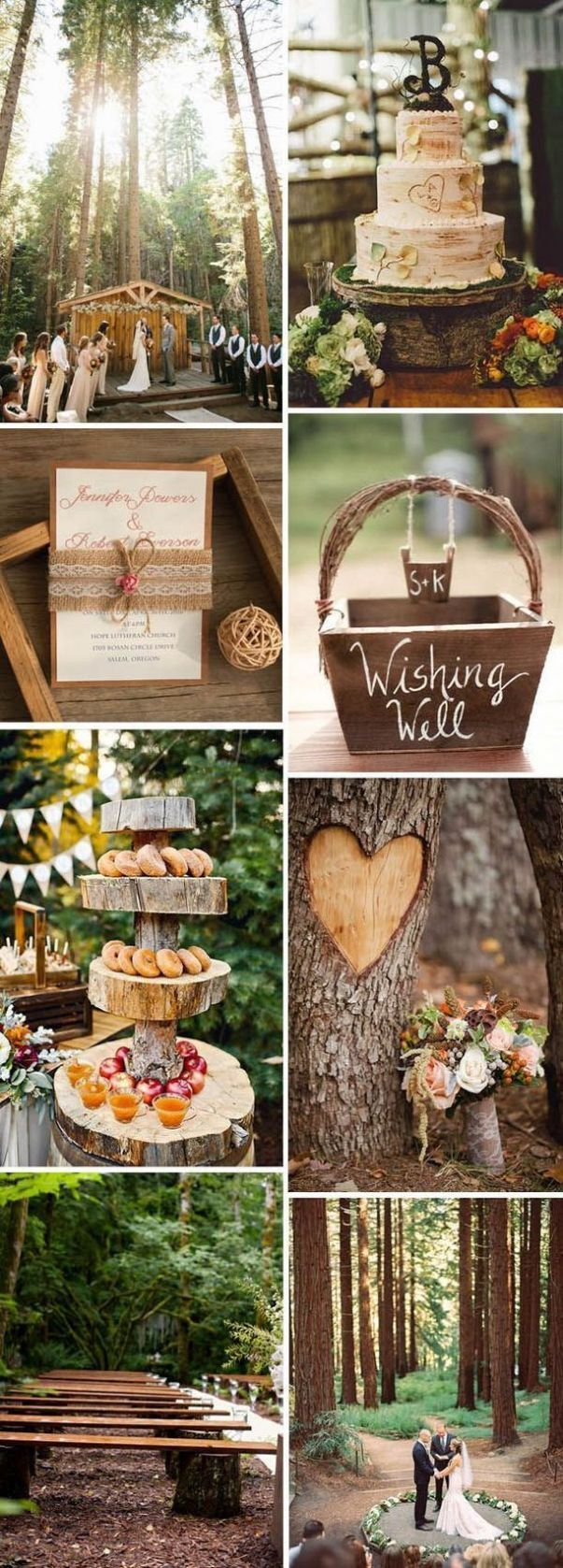 Enchanted forest decorations for wedding ideas 35