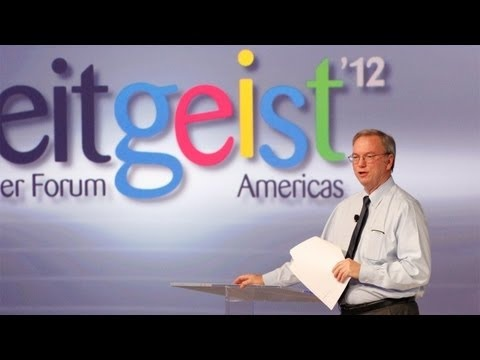 Watch The Videos From Google's Zeitgeist Event, Featuring Eric Schmidt And CEO Larry Page