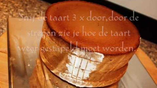 Hoe moet je taarten bakken van biscuitdeeg, vullen en met marsepein versieren? - Instructies - Weethetsnel.nl