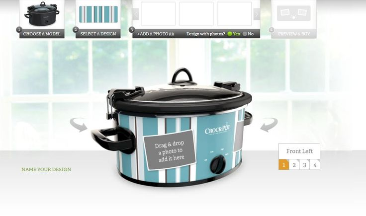 Create your own slow cooker