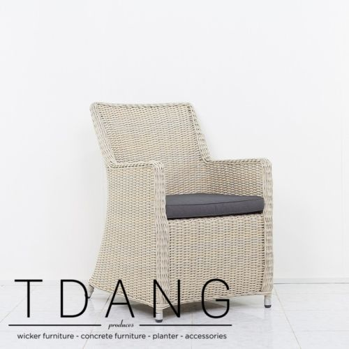 Relish the outdoors with a set of chairs just as unique as your outdoor patio with the Martinez Wicker Dining Chair.
