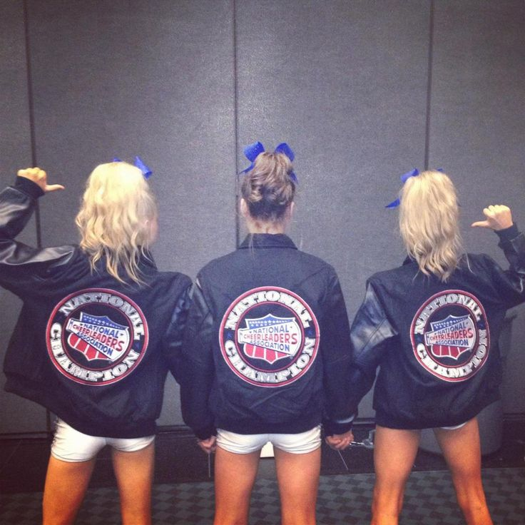 Who wants that NCA jacket? Only 3 more weeks!