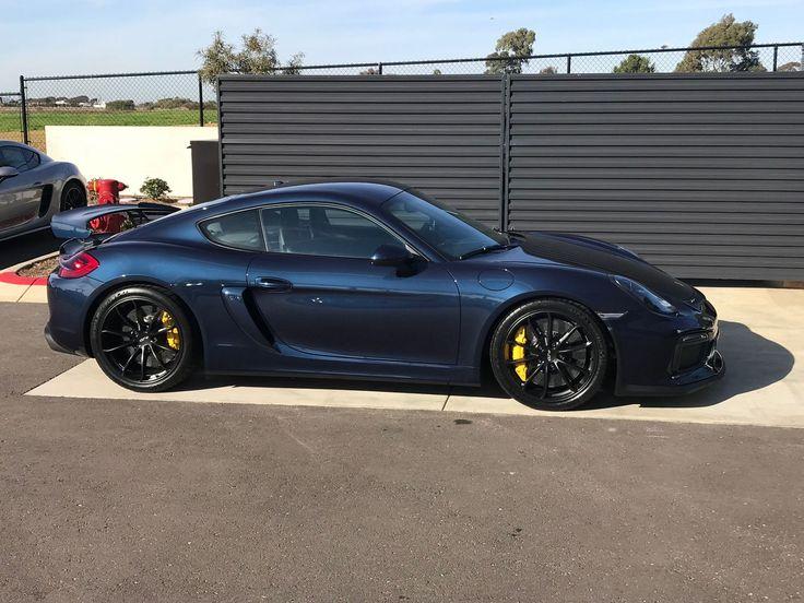 Stunning Midnight Blue Cayman GT4 Porsche Cayman gt4