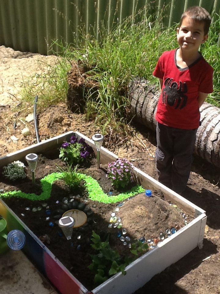 dinosaur garden (minus the dinosaurs for now)