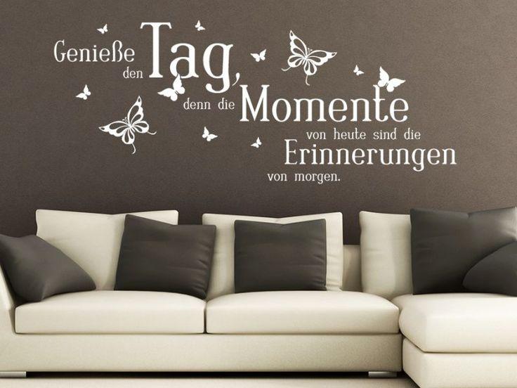126 besten wanddesign ideen bilder auf pinterest romantische ideen antwort und wandverkleidung - Wandtattoo spruche schlafzimmer ...
