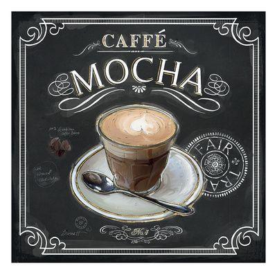 Coffee House Caffe Mocha Gicléedruk van Chad Barrett bij AllPosters.nl