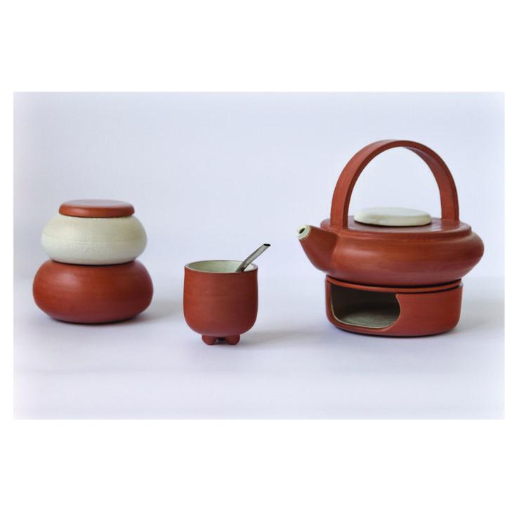 Juego de mate en arcilla roja y esmalte pup ceramica for Arcilla para ceramica